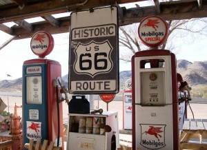 Point relais sur la Route 66